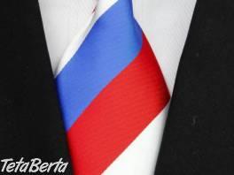 Luxusní trikolor kravata , Móda, krása a zdravie, Doplnky a príslušenstvo  | Tetaberta.sk - bazár, inzercia zadarmo