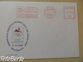 Obálky a Korešponďáky s Olympijským motívom
