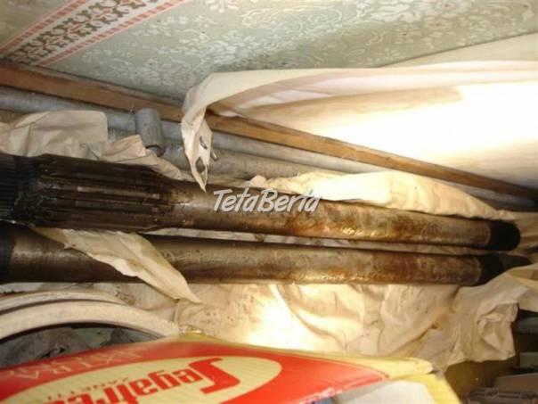 poloosy pravá + levá MTS RTO, foto 1 Auto-moto | Tetaberta.sk - bazár, inzercia zadarmo