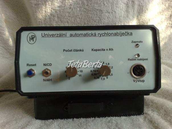 Automatická impulsní rychonabíječka , foto 1 Elektro, Ostatné | Tetaberta.sk - bazár, inzercia zadarmo