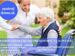 Ponúkame opatrovateľskú službu pre seniorov, ŤZP a dôchodcov  , Obchod a služby, Ostatné  | Tetaberta.sk - bazár, inzercia zadarmo