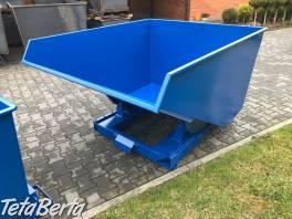 Kontajner TK 1500 litrov , Obchod a služby, Stroje a zariadenia  | Tetaberta.sk - bazár, inzercia zadarmo