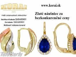 Zlaté náušnice od KORAI , Móda, krása a zdravie, Hodinky a šperky  | Tetaberta.sk - bazár, inzercia zadarmo