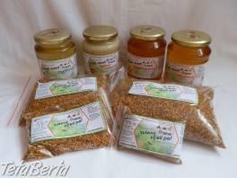 Včelie produkty, včelí med, včelí peľ