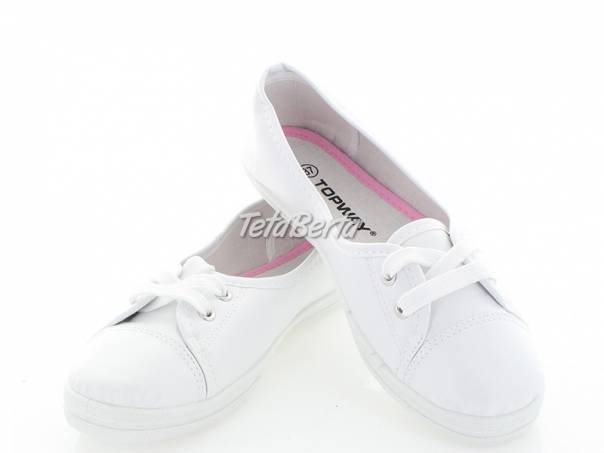 eb490575dd biele balerínky