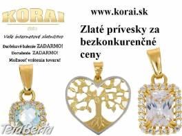 Zlaté prívesky od KORAI , Móda, krása a zdravie, Hodinky a šperky  | Tetaberta.sk - bazár, inzercia zadarmo