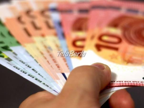 príležitosť akéhokoľvek typu pôžičky a financovania, foto 1 Obchod a služby, Financie   Tetaberta.sk - bazár, inzercia zadarmo