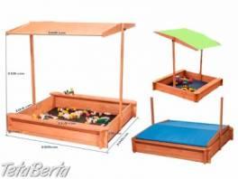 Detské pieskovisko , Dom a záhrada, Záhradný nábytok, dekorácie  | Tetaberta.sk - bazár, inzercia zadarmo