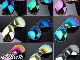 Farebné zrkadlové slnečné okuliare , Móda, krása a zdravie, Okuliare    Tetaberta.sk - bazár, inzercia zadarmo