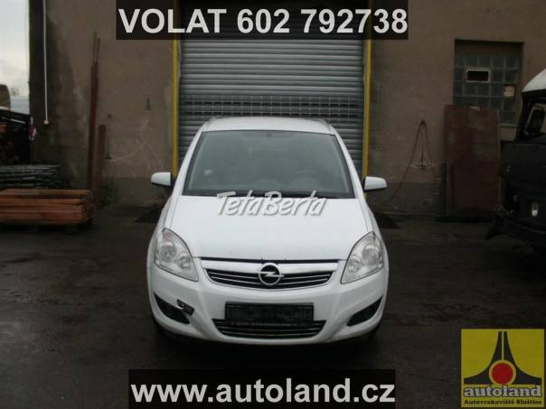 Opel Zafira 1,9, foto 1 Auto-moto | Tetaberta.sk - bazár, inzercia zadarmo
