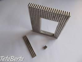 2000 malých neodymových magnetov , Elektro, Ostatné  | Tetaberta.sk - bazár, inzercia zadarmo