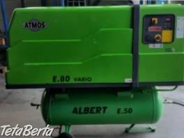 Zánovný skrutkový kompresor Atmos E.80 Vario s frekvenčným meničom , Obchod a služby, Stroje a zariadenia  | Tetaberta.sk - bazár, inzercia zadarmo