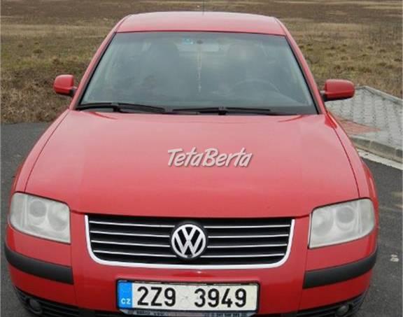 Volkswagen Passat VW Passat B5, 1.9 TDi, 74 KW, foto 1 Auto-moto, Automobily | Tetaberta.sk - bazár, inzercia zadarmo