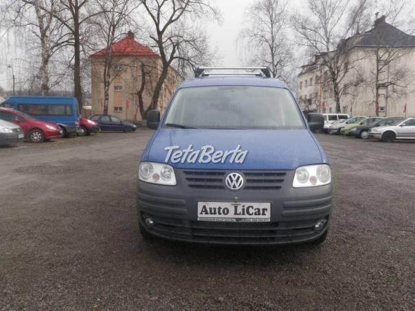 Volkswagen Caddy 1,9 TDi - 1 maj. odpočet  DPH, foto 1 Auto-moto, Automobily   Tetaberta.sk - bazár, inzercia zadarmo