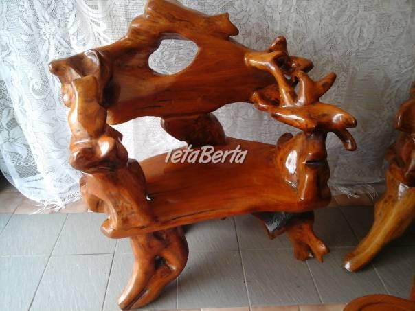 Teaková drevená súprava, foto 1 Dom a záhrada, Nábytok, police, skrine   Tetaberta.sk - bazár, inzercia zadarmo