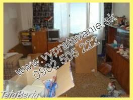 vypratavanie bytov, domov, pivníc  , Dom a záhrada, Upratovanie  | Tetaberta.sk - bazár, inzercia zadarmo