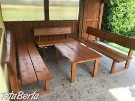 Drevený záhradný nábytok , Dom a záhrada, Záhradný nábytok, dekorácie  | Tetaberta.sk - bazár, inzercia zadarmo