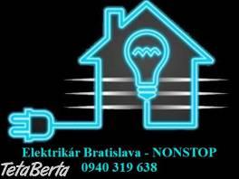 Elektrikár Bratislava – NONSTOP