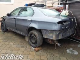 Alfa Romeo166 2liter benzin/plyn , Náhradné diely a príslušenstvo, Automobily  | Tetaberta.sk - bazár, inzercia zadarmo
