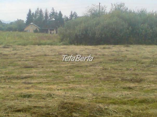Stavebný pozemok-Rohozná, foto 1 Reality, Pozemky   Tetaberta.sk - bazár, inzercia zadarmo