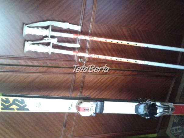 Lyže K 2 a palice., foto 1 Hobby, voľný čas, Šport a cestovanie   Tetaberta.sk - bazár, inzercia zadarmo