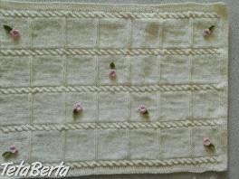Ručne pletená deka , Pre deti, Kojenecké potreby  | Tetaberta.sk - bazár, inzercia zadarmo