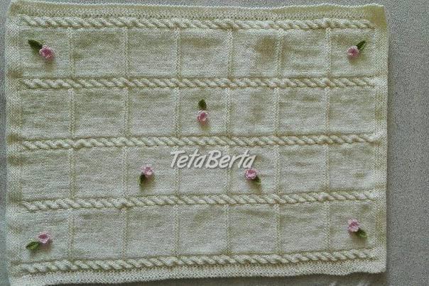Ručne pletená deka, foto 1 Pre deti, Kojenecké potreby   Tetaberta.sk - bazár, inzercia zadarmo