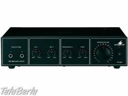 PA-402, mono PA mixing amplifier, Monozosilňovač PA-402 , Elektro, Ostatné  | Tetaberta.sk - bazár, inzercia zadarmo