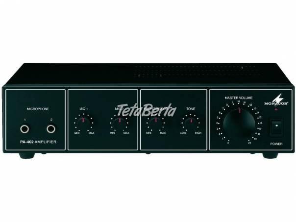 PA-402, mono PA mixing amplifier, Monozosilňovač PA-402, foto 1 Elektro, Ostatné | Tetaberta.sk - bazár, inzercia zadarmo