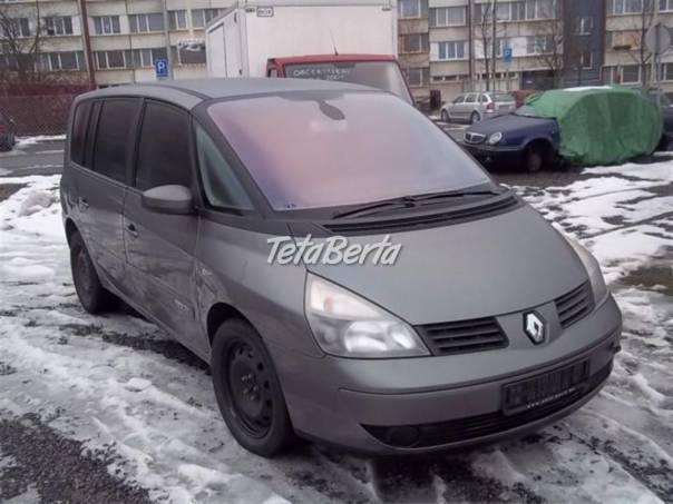 Renault Espace 2.2 dCi Náhradní díly, foto 1 Auto-moto | Tetaberta.sk - bazár, inzercia zadarmo