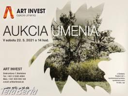 Jarná aukcia umenia v sobotu 22.5. od 14 hod. , Hobby, voľný čas, Umenie a zbierky  | Tetaberta.sk - bazár, inzercia zadarmo