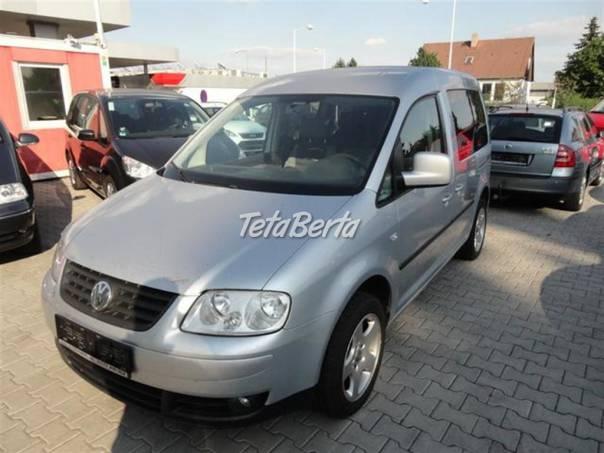 Volkswagen Caddy 1,9 TDI 77 KW LIFE 7-MÍST, foto 1 Auto-moto, Automobily | Tetaberta.sk - bazár, inzercia zadarmo