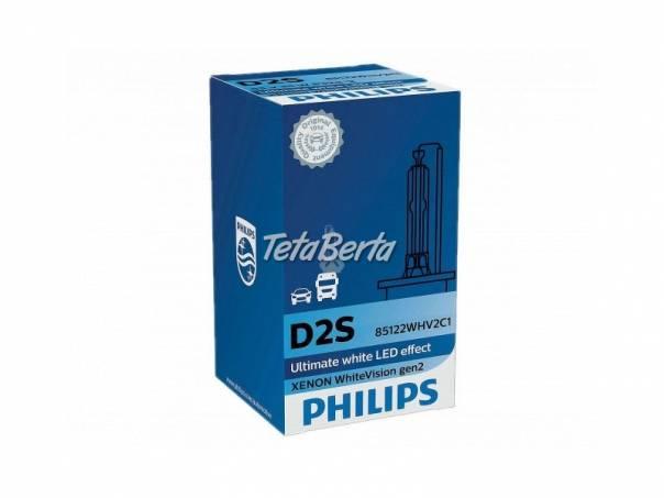 D2S Xenónová výbojka Philips Xenon WhiteVision Gen.2 5000, 12V/24V TOP, foto 1 Náhradné diely a príslušenstvo, Ostatné | Tetaberta.sk - bazár, inzercia zadarmo