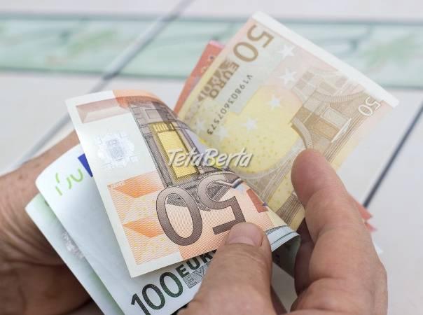 Finančná pomoc jednotlivcom  , foto 1 Elektro, Pamäťové médiá | Tetaberta.sk - bazár, inzercia zadarmo