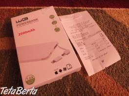 Predám PowerBank 2500mAh_06. Nepoužívaná, je nová. , Elektro, Mobilné telefóny  | Tetaberta.sk - bazár, inzercia zadarmo