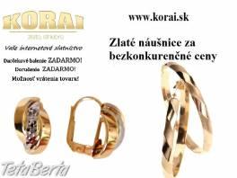 Náušnice zlaté KORAI