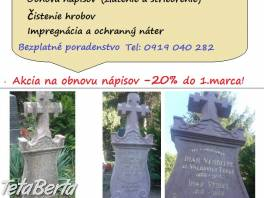 Obnova hrobu-Sírkő Felújítás , Obchod a služby, Ostatné  | Tetaberta.sk - bazár, inzercia zadarmo