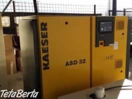 Zánovný skrutkový kompresor KAESER ASD 32 , Obchod a služby, Stroje a zariadenia  | Tetaberta.sk - bazár, inzercia zadarmo
