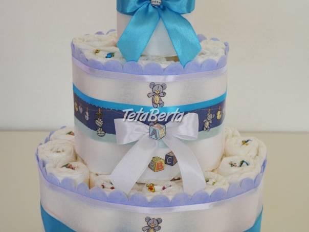 Plienková torta, foto 1 Pre deti, Kojenecké potreby | Tetaberta.sk - bazár, inzercia zadarmo