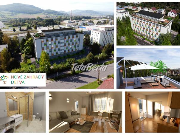 Predaj 1- až 3-izbových bytov Nové záhrady Detva, foto 1 Reality, Byty | Tetaberta.sk - bazár, inzercia zadarmo