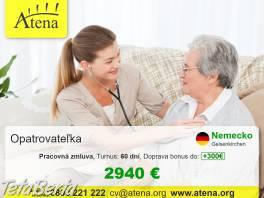 Opatrovanie , Práca, Zdravotníctvo a farmácia  | Tetaberta.sk - bazár, inzercia zadarmo