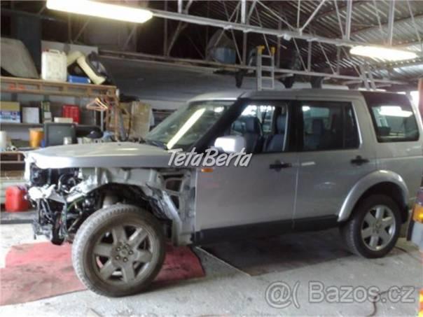 Land Rover Discovery Land Rover Discovery 3 2,7tdv6 - rozprodám na díly, foto 1 Auto-moto | Tetaberta.sk - bazár, inzercia zadarmo