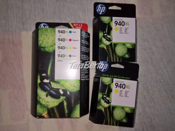 Predám atramentové kazety HP 940 XL, foto 1 Elektro, Tlačiarne, skenery, monitory | Tetaberta.sk - bazár, inzercia zadarmo