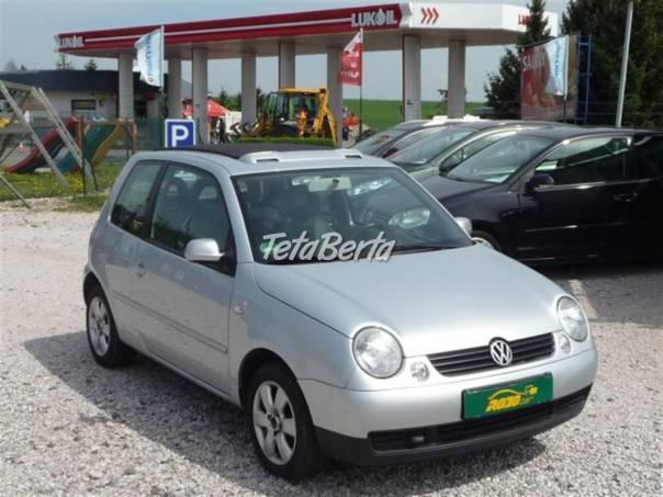Volkswagen Lupo 1.0 *SERVISKA-SHRNOVACÍ STŘECHA*, foto 1 Auto-moto, Automobily   Tetaberta.sk - bazár, inzercia zadarmo