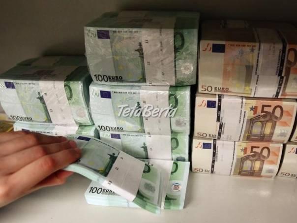 Požiadajte o pôžičky, foto 1 Pre deti, Kojenecké potreby | Tetaberta.sk - bazár, inzercia zadarmo