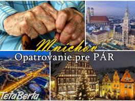 Mníchov – ponuka opatrovania pre PÁR , Práca, Zdravotníctvo a farmácia    Tetaberta.sk - bazár, inzercia zadarmo