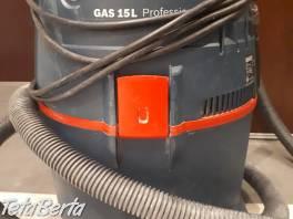 Priemyselny vysavac Bosch gas 15L , Dom a záhrada, Upratovanie  | Tetaberta.sk - bazár, inzercia zadarmo