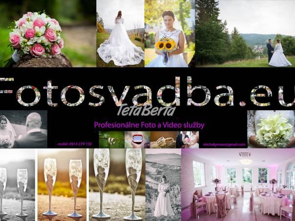 Svadobný kameraman - Svadobný fotograf, foto 1 Obchod a služby, Ostatné | Tetaberta.sk - bazár, inzercia zadarmo