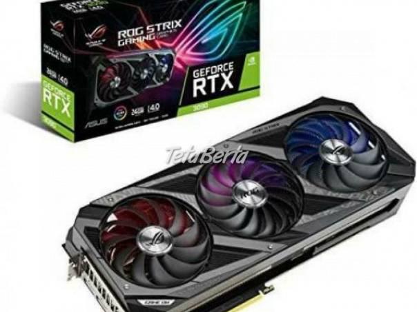 Brand New ASUS NVIDIA GeForce RTX 3090 24GB, foto 1 Elektro, Zvukové a grafické karty | Tetaberta.sk - bazár, inzercia zadarmo