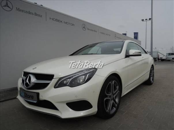 Mercedes-Benz Třída E 2,2 E 220 CDI Kupé Sport paket, foto 1 Auto-moto, Automobily | Tetaberta.sk - bazár, inzercia zadarmo